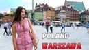 Варшава. Польша. Старый город. Поющие фонтаны. Драники с пивом