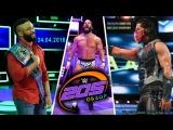 [Wrestling Ukraine]Highlights]WWE 205 Live Highlights  24 April 2018]Огляд Українською]