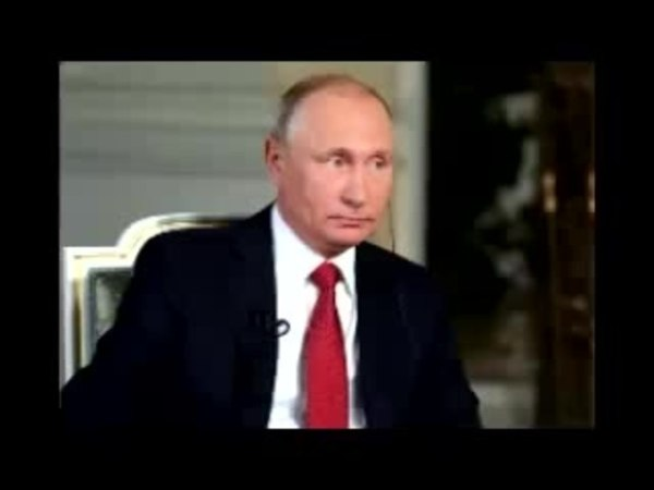 ✦Putin and the dishonest Austrian journalist during a state television interview✦