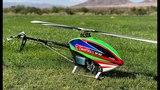Alan Szabo Jr. ALIGN Trex 600XN Prototype Test Flight in the Vegas Heat
