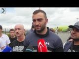 Как встречали Мурата Гассиева в Осетии после боя с Александром Усиком