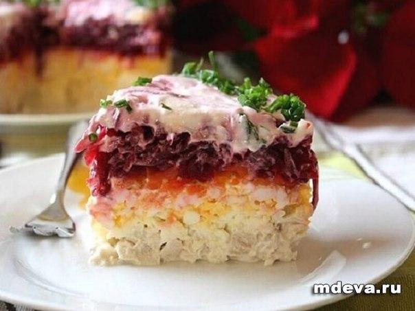 Свекольный салат «Генерал»