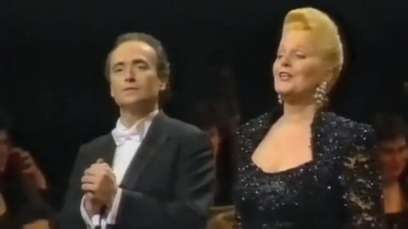 José Carreras and Friends - Brindisi - Fun performance - Ricciarelli Baltsa Raimondi