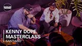 Kenny Dope of Masters At Work Production Masterclass Boiler Room BUDx Santiago