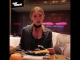 Настя Ивлеева ест костный мозг // Орел и Решка. Америка