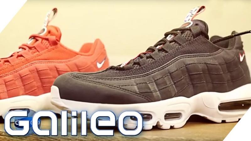 Sneaker-Produktion Daran erkennt man einen guten Schuh | Galileo | ProSieben