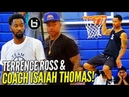 Isaiah Thomas & Terrence Ross TEAM UP! IT Coaching & TROSS DOMINATES!