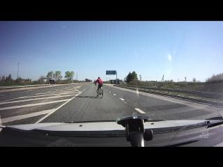 Велосипедист самоубийца. Ивановская область.
