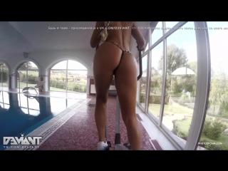 Maria Hot Sexy Babe Blonde Teen Oil Tits Ass Legs Anal Nude Красивая Голая Девуш