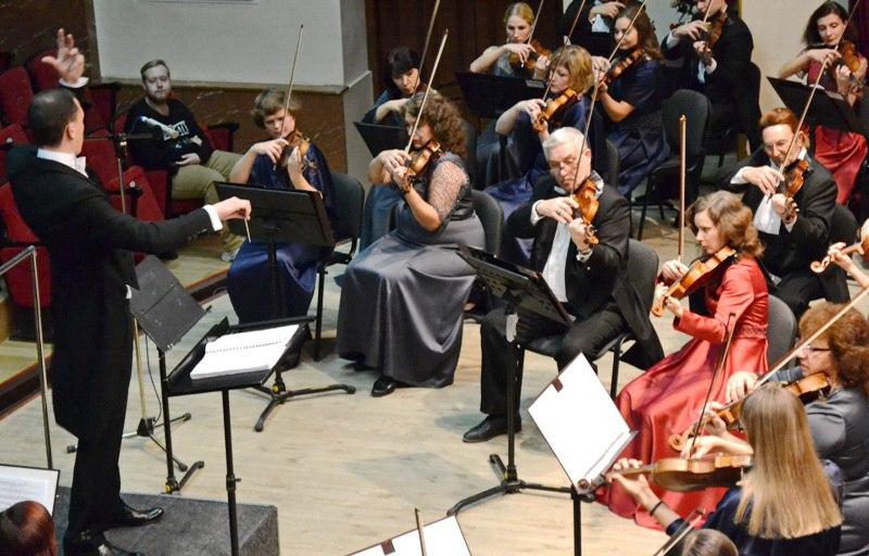 Симфонический оркестр впервые представил в Луганске произведение композитора из США