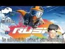 WINGSUIT IN VIRTUAL REALITY | Rush (Oculus Rift VR Gameplay Review)