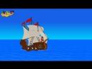 The Big Ship Sails On The Ally ally Oh Kids Nursery Rhyme With Lyrics English Nursery Rhymes