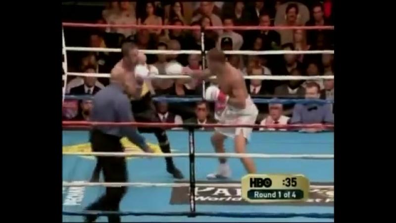 Андре Уорд vs Крис Молина полный бой 18 12 2004