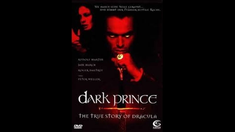 Князь Дракула Тёмный Господарь Подлинная История Дракулы Dark Prince The True Story of Dracula. 2000. Перевод DVO. VHS