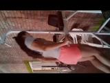 Female Wrestling workout