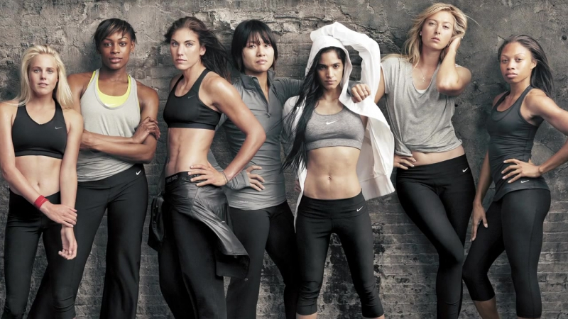 София Бутелла в рекламной кампании Nike Women Make Yourself
