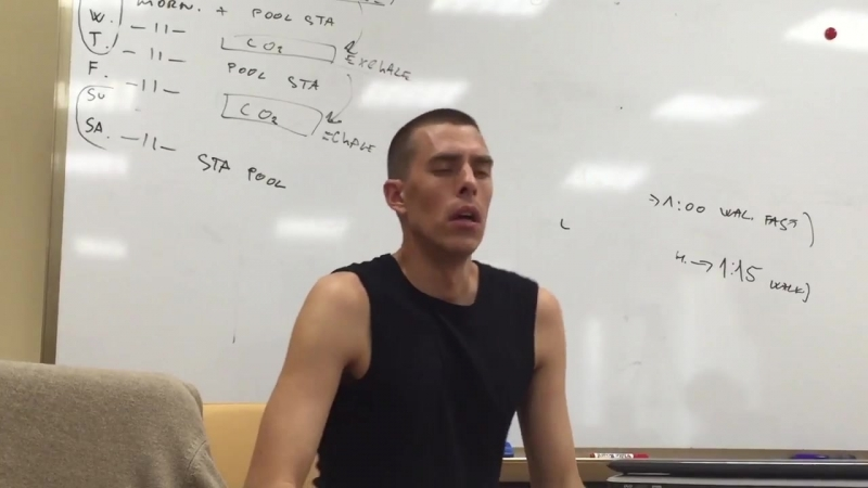 Branko Petrovic first static apnea master class