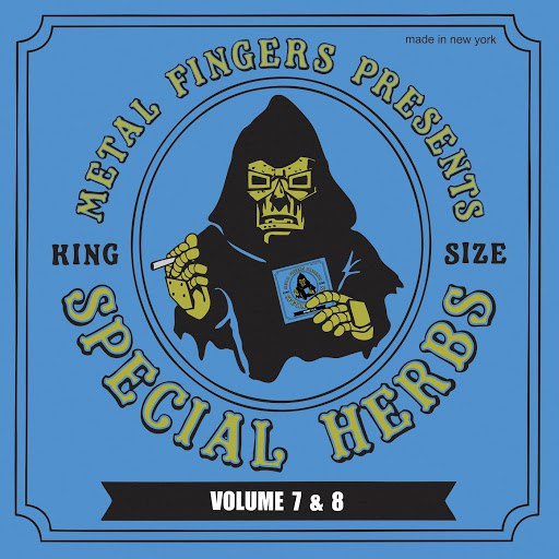 MF Doom альбом Metal Fingers Presents: Special Herbs, Vol. 7 and 8