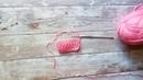 Уроки вязания крючком для начинающих. Обвитой столбик.