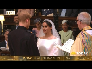 Royal Wedding- Prince Harry, Meghan Markle Exchange Vows  (Today)
