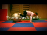 Prone Jack knife