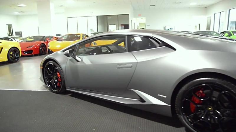 Lamborghini Huracan LP 610-4 Grigio Titans