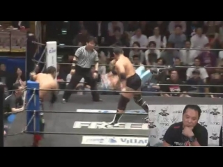 Mammoth Sasaki, Toru Sugiura (c) vs. Gurukun Mask, Takashi Sasaki (FREEDOMS - We Love FREEDOMS! We Are FREEDOMS! 2018)
