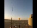 Взрывная волна в пустыне