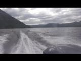 Прогулка на катере по Телецкому озеру. Республика Алтай (июнь 2017). Часть 1