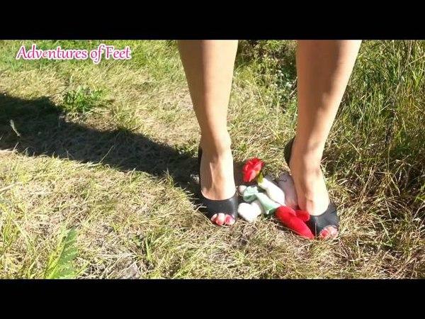 Adventures Of Feet: Crush a little cupid