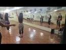 с группой Рания, танец Борисовой