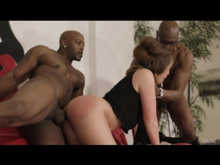 Maddy O'Reilly, Sean Michaels, Nat Turnher - My Boss' Wife [Feature, Interracial, Blowjob, All Sex, Threesome, 1080p]