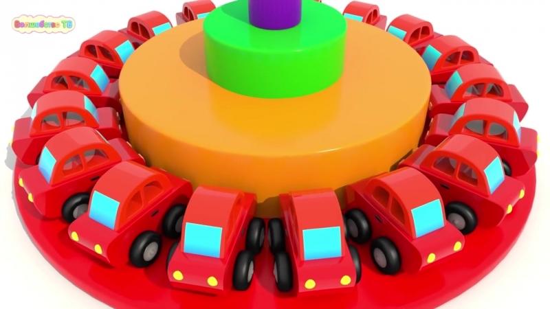 Учим Цвета и Формы _ Деревянные Обучающие Игрушки Для Малышей _ Мультики Для Дет (1)