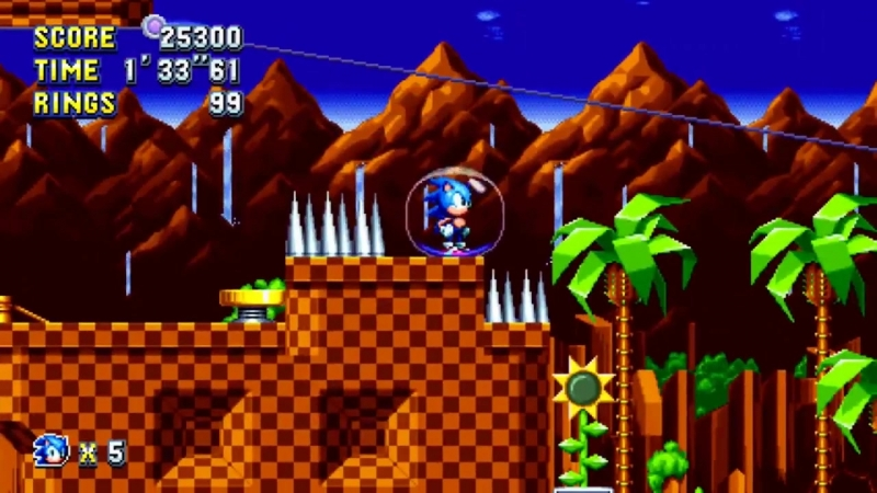 [Subspace Highway] Sonic Mania - 8 Giant Ring Locations [Sonic Route]
