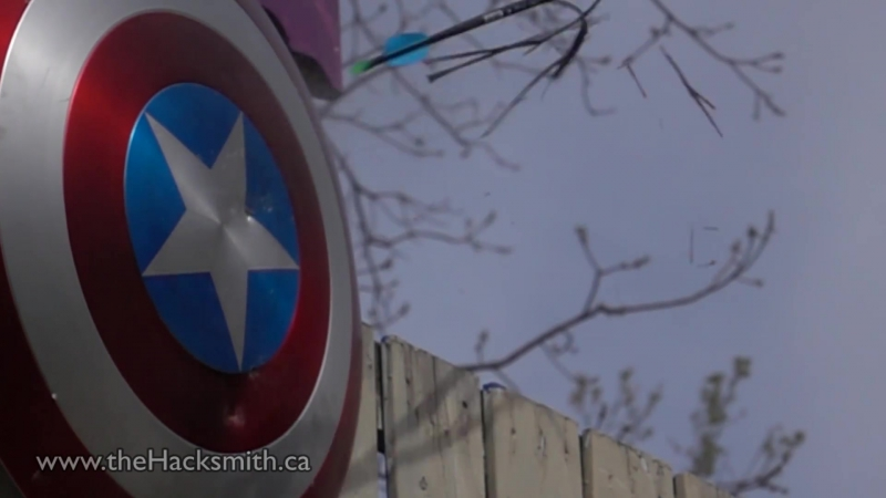 Настоящий щит капитана Америка/Does Captain Americas Electromagnet Shield Work؟