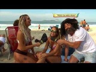 PÂNICO ON THE BEACH: PEGO OU NÃO PEGO? MENDIGO E MENDIGATA - E03