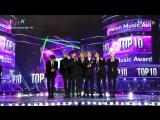 171202 BTS receiving the award for Top 10 MelOn Artists @ 2017 MelOn Music Awards