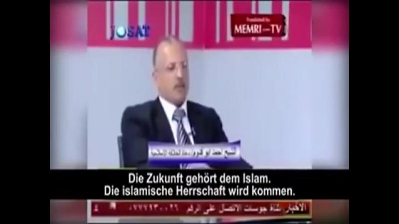 Islam diskutiert im Fernsehen wie Europa nach Machtübernahme regiert werden soll