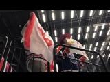 Great job, boys! Болельщик сборной Канады на игре с Южной Кореей