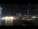 Танцующие фонтаны у Дубай молл