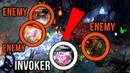 InYourdreaM TOP-1 Rank Invoker with Trashtalker in Team EPIC 1V4 Juke - Dota 2