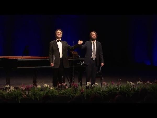 Evgeny Kissin Daniil Trifonov - Rachmaninov: Polka italienne (Verbier Festival, 2018)