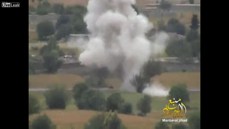 Афганистан. Компиляция подрывов бронетехники ISAF и ANA боевиками движения Талибан