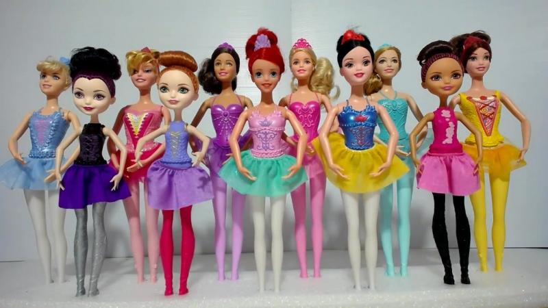 Как сделать подставки для Куклы Барби Балерины Принцесс Диснея Маттел Эвер Афтер Хай и Феи Дисней Часть 1