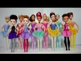 Как сделать подставки для Куклы Барби Балерины, Принцесс Диснея Маттел, Эвер Афтер Хай и Феи Дисней Часть 1