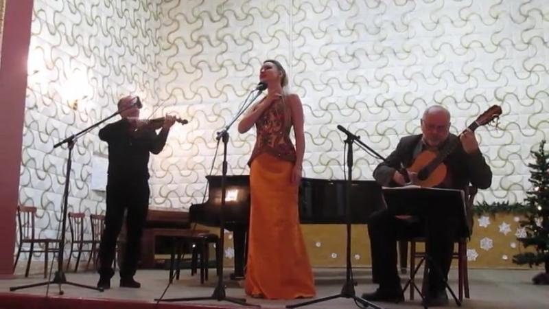 Солистка Росконцерта в Горлоске.Февраль 2015.г.Горловка. Музыкальная школа №1