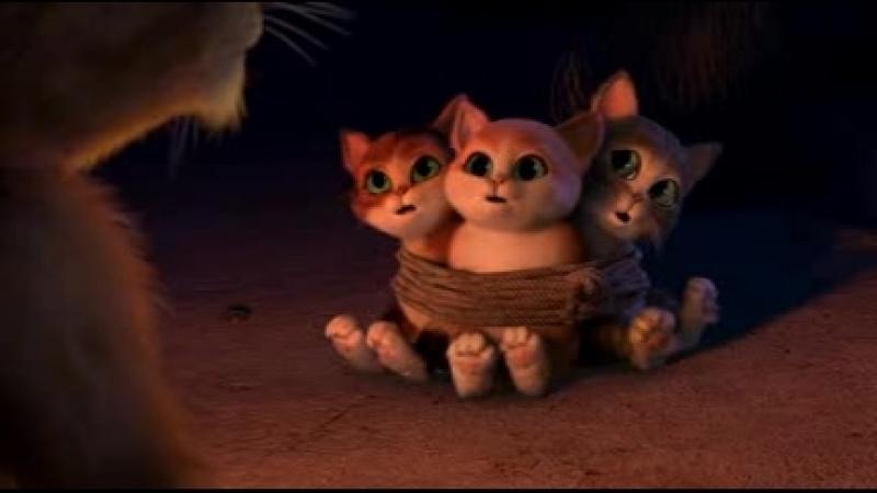 Кот в сапогах и три чертёнка, дьевалёнка