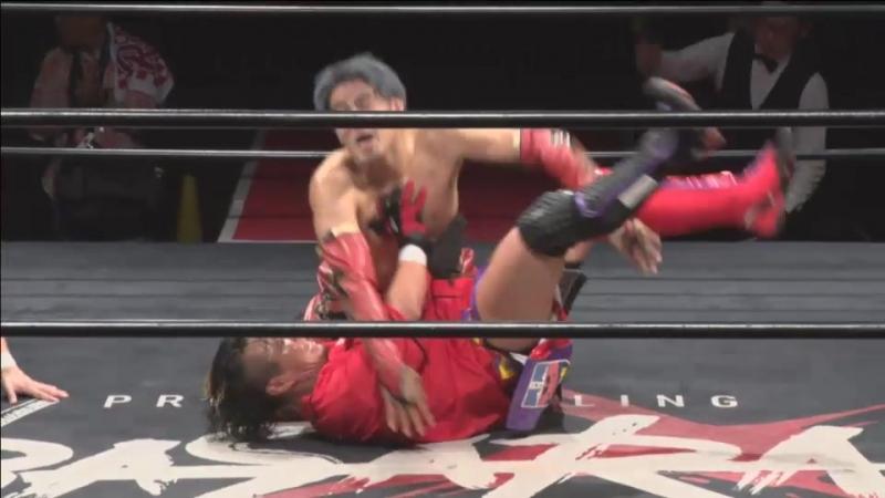Isami Kodaka, Ryota Nakatsu, Takato Nakano vs. Naoki Tanizaki, Yuki Aoki, Manabu Hara (BASARA - Vajra 65 ~ Feast)