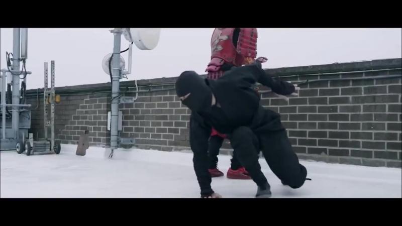 Football Samurai (Современный самурай) with a MU