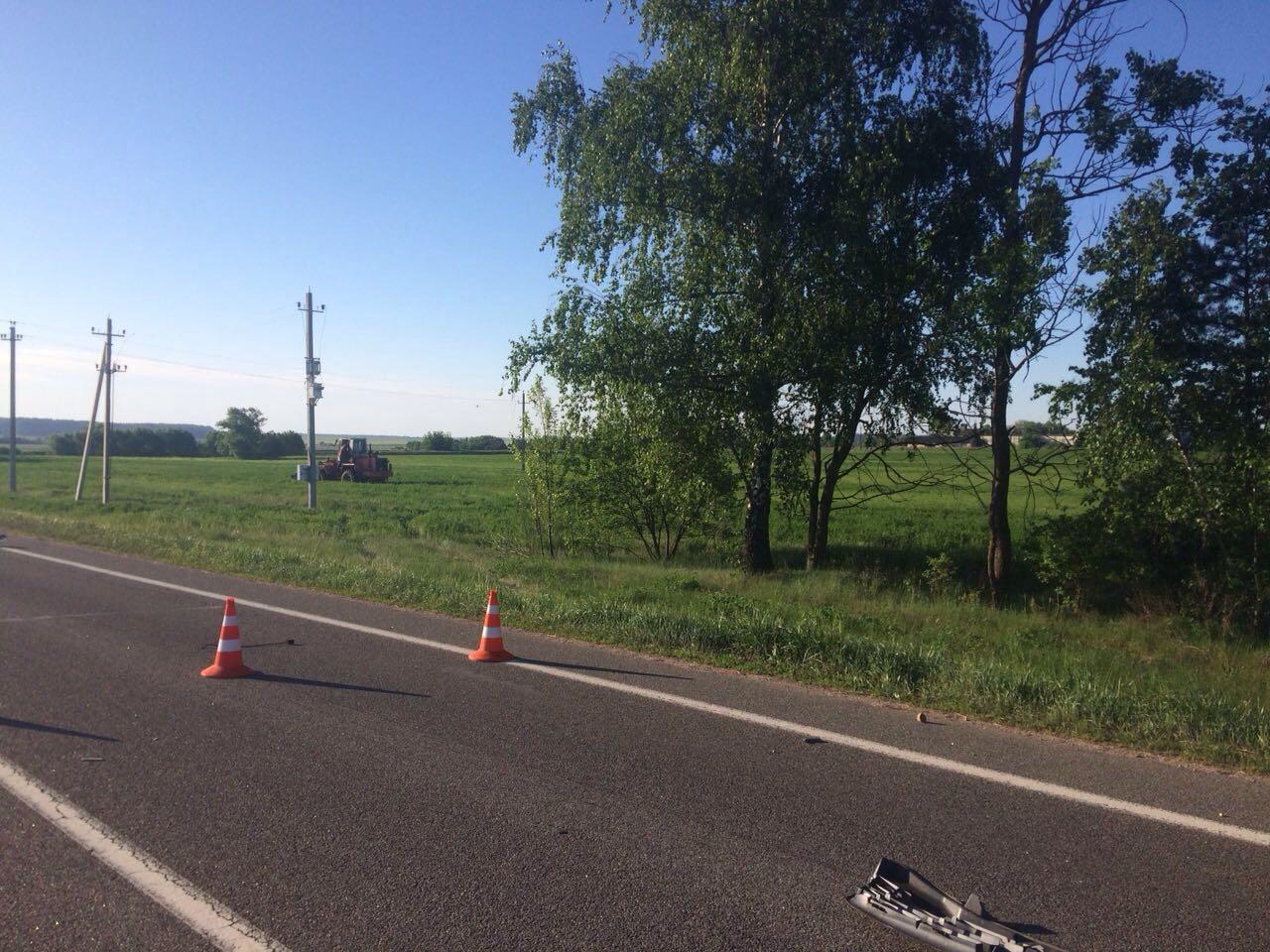 Опубликованы новые фотографии с места ДТП в Каменецком районе